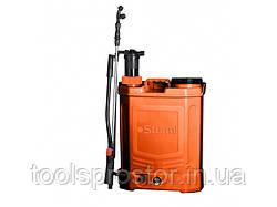 Опрыскиватель аккумуляторный Sturm GS8216BM : 16л | с ручной подкачкой | 24 месяца гарантии