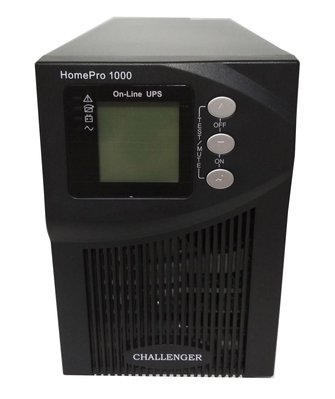 ИБП Challenger HomePro 1000-S On-line с чистой синусоидой