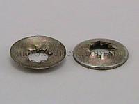 Шайба с внутренними зубьями, белая 8х22 бамперов ВАЗ (передний/задний)
