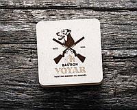 Дизайн логотипа питомника охотничьих собак BASTION VOYAR