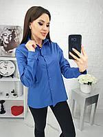 Рубашка коттоновая женская ДЖИНС (ПОШТУЧНО), фото 1
