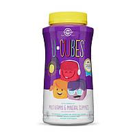 Витамины для детей Солгар Solgar U-Cubes Children's Multi-Vitamin Mineral 60 конфет