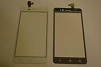 Оригинальный тачскрин / сенсор (сенсорное стекло) для Lenovo S60 S60-T S60T (белый цвет) + СКОТЧ В ПОДАРОК