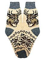 Носки из овечьей шерсти мужские