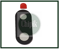Стекло (окошко камеры) для Huawei P Smart Z, Черное