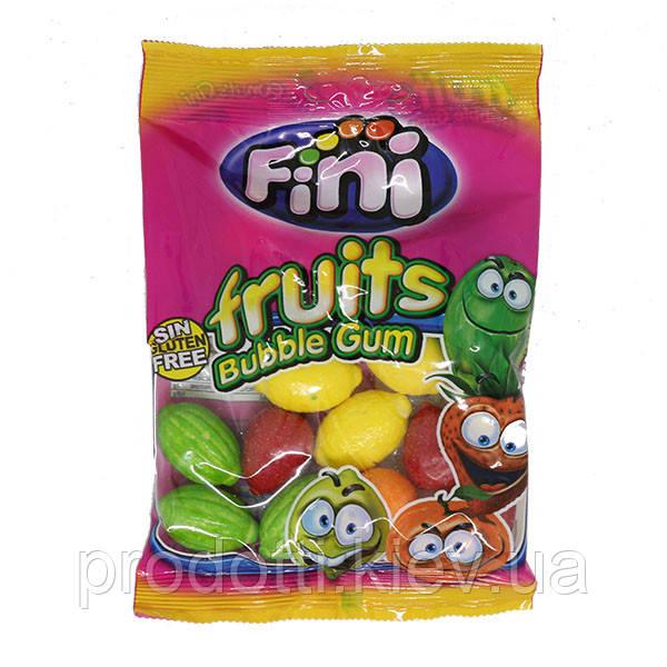 Жувальні гумки Fini fruits Bubble Gum , 100 г