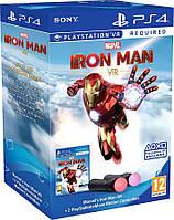 Move Motion Controller Marvels Iron Man Bundle ps4 VR
