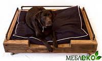 Мягкое место для собаки в интерьер под старину, Мебель для домашних животных