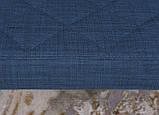 Кресло - банкетка VALENCIA (Валенсия) текстиль синий Nicolas (бесплатная адресная доставка), фото 6
