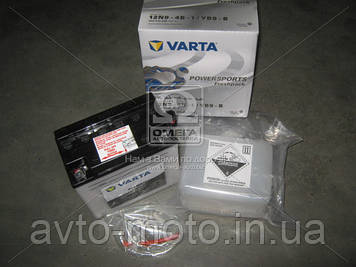 Аккумулятор    9Ah-12v VARTA FS FP (12N9-4B-1,YB9-B) (136x76x134),L,Y6,EN85