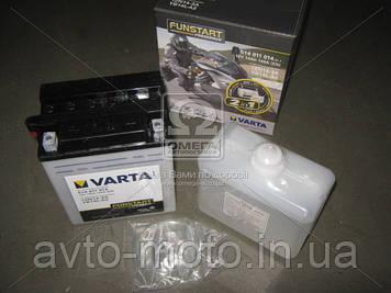 Аккумулятор   14Ah-12v VARTA FS FP (12N14-3A, YB14L-A2) (136x91x166), R, Y8, EN190