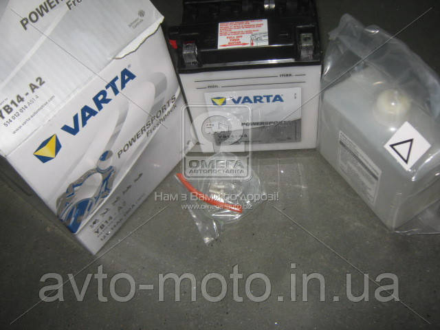 Аккумулятор   14Ah-12v VARTA FS FP (YB14-A2) (136x91x168), L, Y8, EN140-190