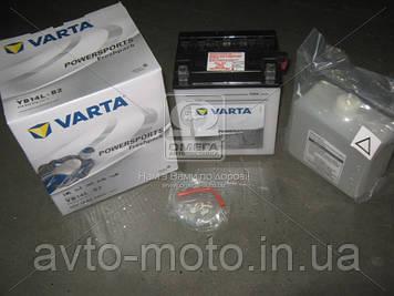 Аккумулятор   14Ah-12v VARTA FS FP (YB14L-B2) (136x91x186), R, Y8, EN190