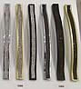 Ручка меблева Ozkardesler ODESSA 5268-04 з камінням світлими 192мм Матове Золото, фото 2