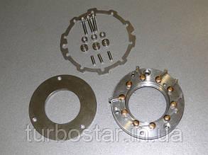 Геометрия турбины GT15-1, 700960-0002, VW 1.2D