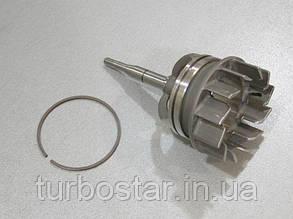 Геометрия турбины GT1549P, 3000-016-050 707240-0001, FIAT 2.2D