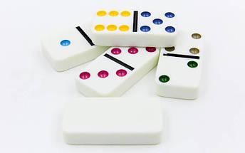 Домино настольная игра в металлической коробке IG-5010FA (кости-пластик,h-4,3см, р-р 19x11,5x3,5см), фото 3