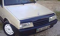 Мухобойка на капот ВАЗ 2108, 2109, 21099. Дефлектор капота ВАЗ, Лада, Самара длиннокрылка с 1990 года