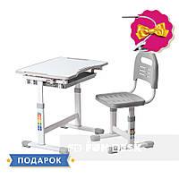 Комплект парта и стул-трансформеры FunDesk Sole Grey
