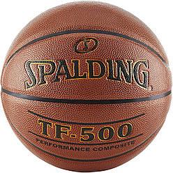 Мяч баскетбольный Spalding TF-500 Indoor/Outdoor Basketball оригинал размер 7 композитная кожа
