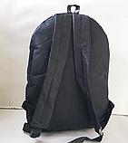 Дешевые спортивные рюкзаки змейка АНТИВОР Nike (ЧЕРНЫЙ)28x38см, фото 3