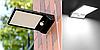 Уличный светильник, подсветка для стены на солнечной батарее 7,5Вт 6500К