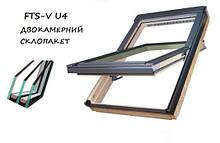 Дахове вікно Fakro FTS-V U4 енергозберігаюче