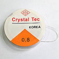 Амортизатор Feeder Gum Cristal Tec Фидергам 7м 0.8мм (прозрачный)