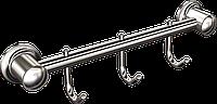 Вешалка 3 крючка для полотенец Andex Classic, 007cc