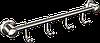 Вешалка 4 крючка для полотенец Andex Classic, 006cc