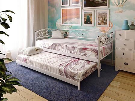 Кровать металлическая подкатная RACIO ТМ МЕТАКАМ, фото 2