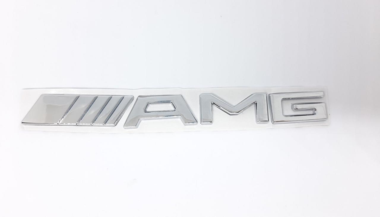 Эмблема логотип значок буквы AMG. Mercedes-Benz