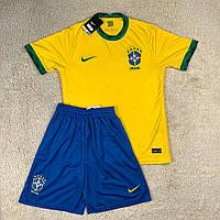 Футбольная форма Сборной Бразилии 2020 домашня, желтая