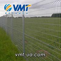 Системы ограждения забор из сетки секции ограждения с ребром жесткости