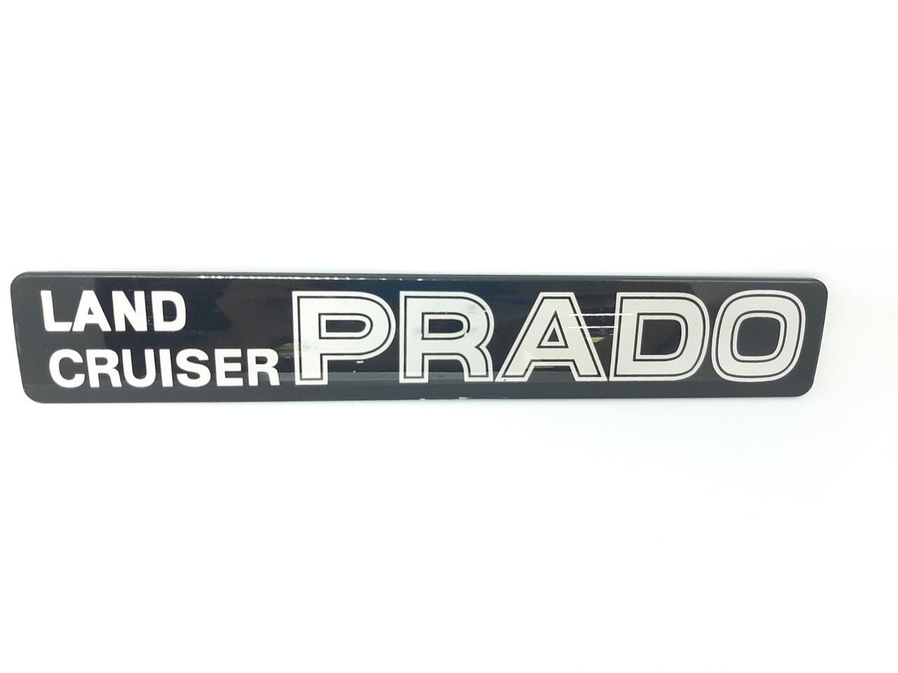 Эмблема логотип значок буквы на капот  крышку багажника Toyota Land Cruiser Prado