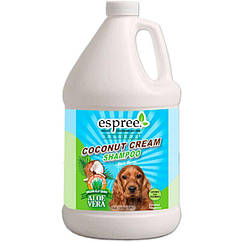 ESPREE (Эспри) Coconut Cream Shampoo - Кокосовый кремовый шампунь для собак с сухой кожей 3.79 л.