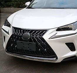 Решетка радиатора Lexus NX (18-20) стиль TRD