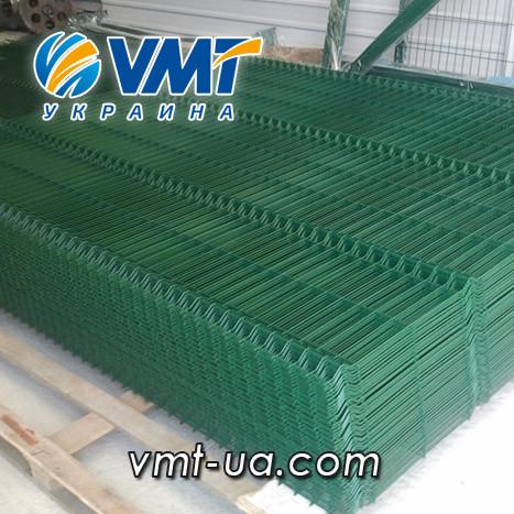 Секционный забор 3D,1500х2500мм, ячейка 50х200мм, пруток 3х4мм