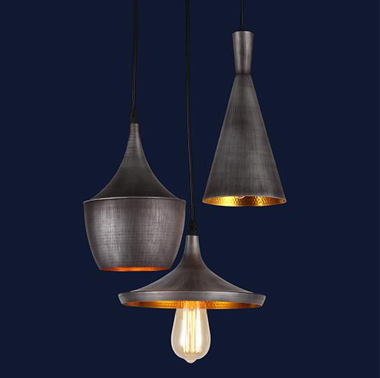 Loft светильник-подвес для баров и ресторанов цвет серый с черный Levistella&7546403-3 BE