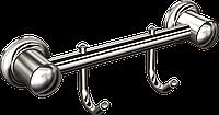 Вешалка 2 крючка для полотенец Andex Classic, 008cc