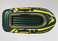 ✅ Intex 68346 (236-114-41 см) Надувная лодка SeaHawk 2 | Надувний човен для рибалки