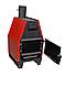 Конвекционная печь длительного горения ProTech ZUBR ПДГ 15 кВт для быстрого нагрева помещений, фото 2