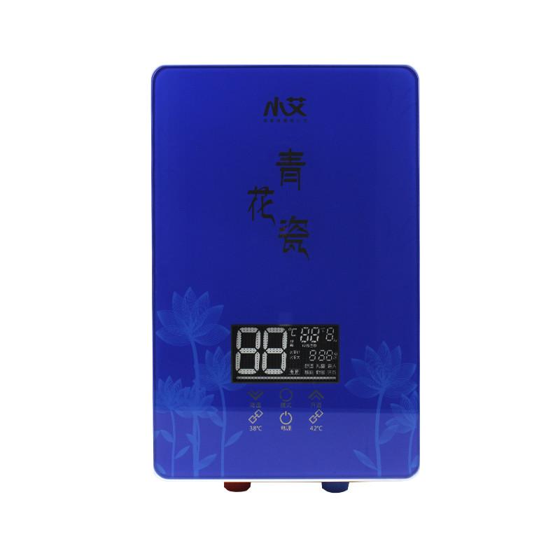 Проточный водонагреватель c душем Nux XA-55B вертикальный 5500В IPX4 электрический для ванной