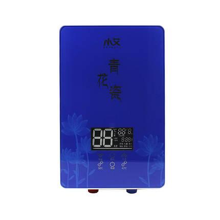 Проточный водонагреватель c душем Nux XA-55B вертикальный 5500В IPX4 электрический для ванной, фото 2