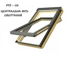Мансардне вікно Fakro FTZ U2 з окладом 78х118