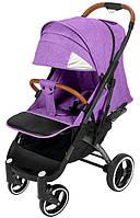 Прогулочная коляска Yoya Plus Pro Premium 2020 - детская коляска трость для путешествий, сиреневый