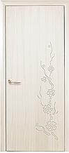 Сакура - Ясень New (60, 70, 80, 90см). Коллекция Колори DeLuxe. Межкомнатные двери МДФ Новый Стиль