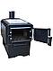 Печь длительного горения с варочной поверхностью ProTech Panda ПДГП-7 кВт из котловой стали 3 мм, фото 2