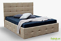 Мягкая кровать Бристоль 1.6 Подъёмная с каркасом