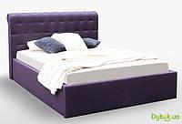 Мягкая кровать Манчестер 1.6 Подъёмная с каркасом